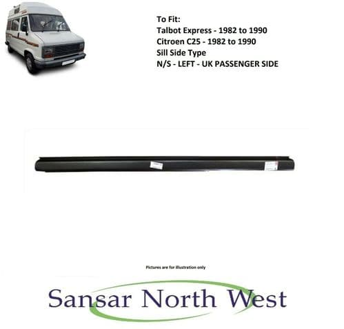 Fiat Ducato - Passenger Side Sill Side Type - N/S LEFT 1982 to 1990